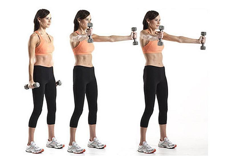 Scaption For Functional And Stronger Shoulders Fitness