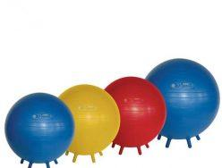 I hear of offices and classrooms using stability balls instead of typical chairs. Is this a good idea?