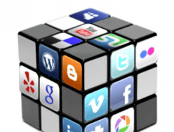 Which social media networks should I use to promote my new business?
