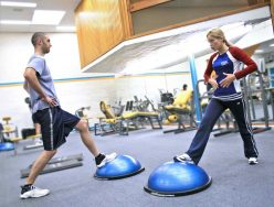 How involved should I be in my clients' exercise routines outside of training sessions?