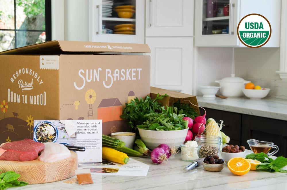 Sun Basket makes it easy to cook healthy!