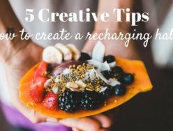 5 Creative Tips on How to Create a Recharging Habit