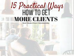 15 Practical Ways on How To Get More Clients