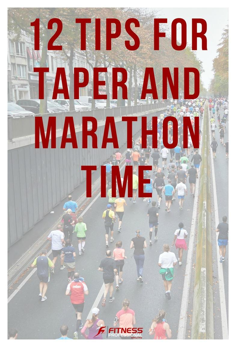 On the day before the marathon, make sure you have everything out that you will need. Here is a list of suggested tips you might need for the race. -Fitness Professional Online