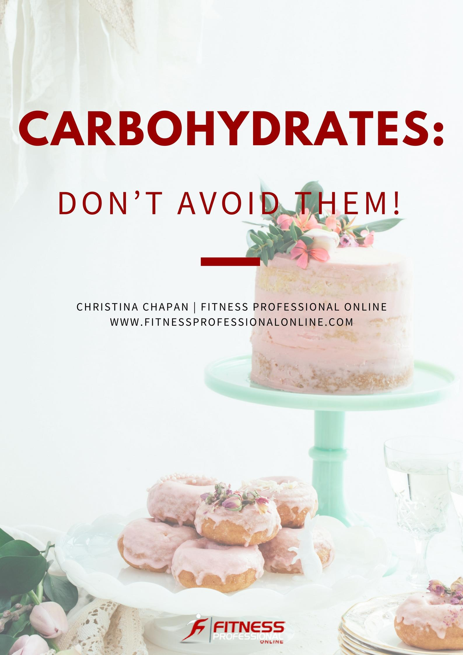 Carbohydrates are an essential part of your diet; they provide energy to fuel your daily activities.