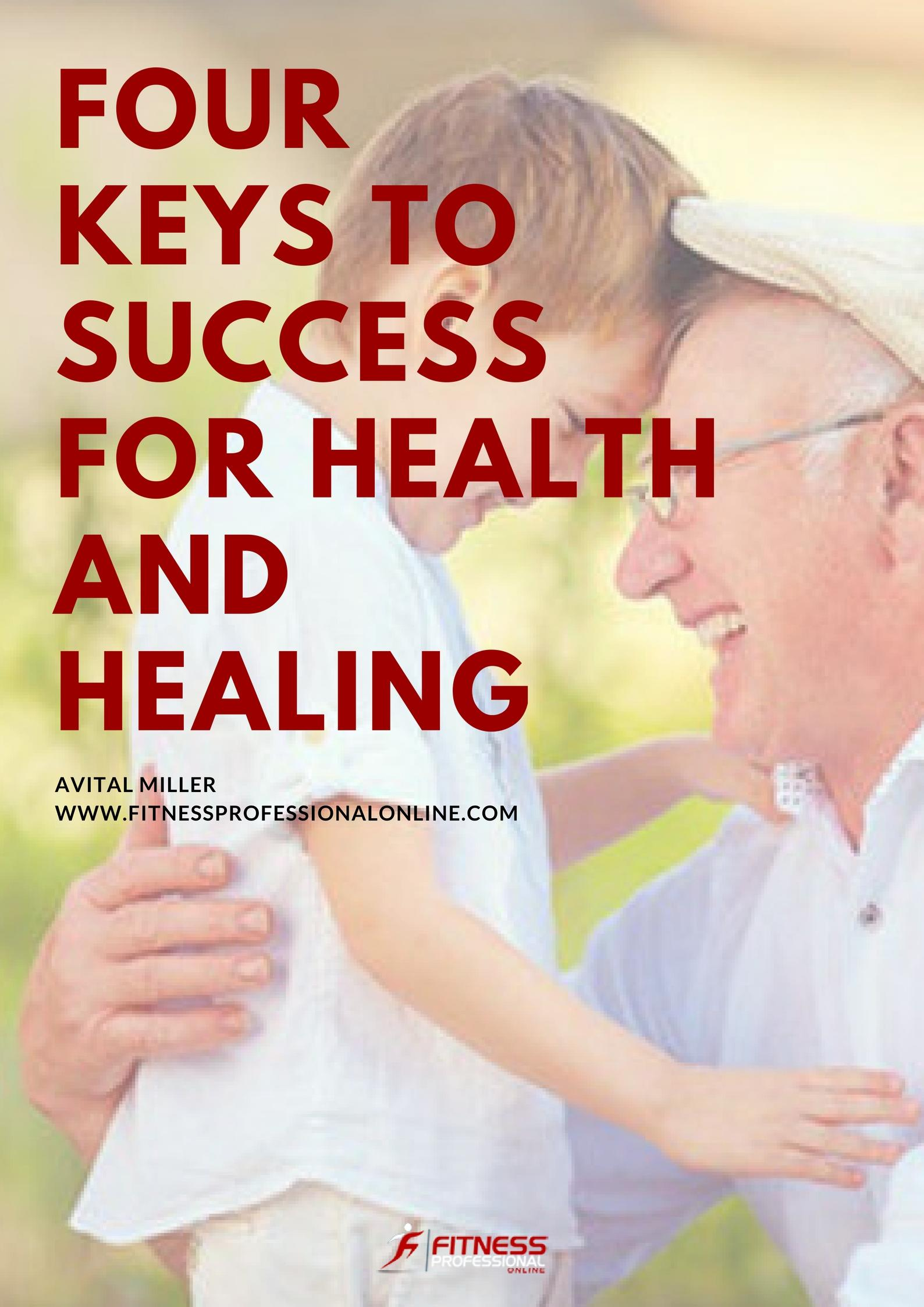 From this research there are four key take-aways to health, happiness, and success.