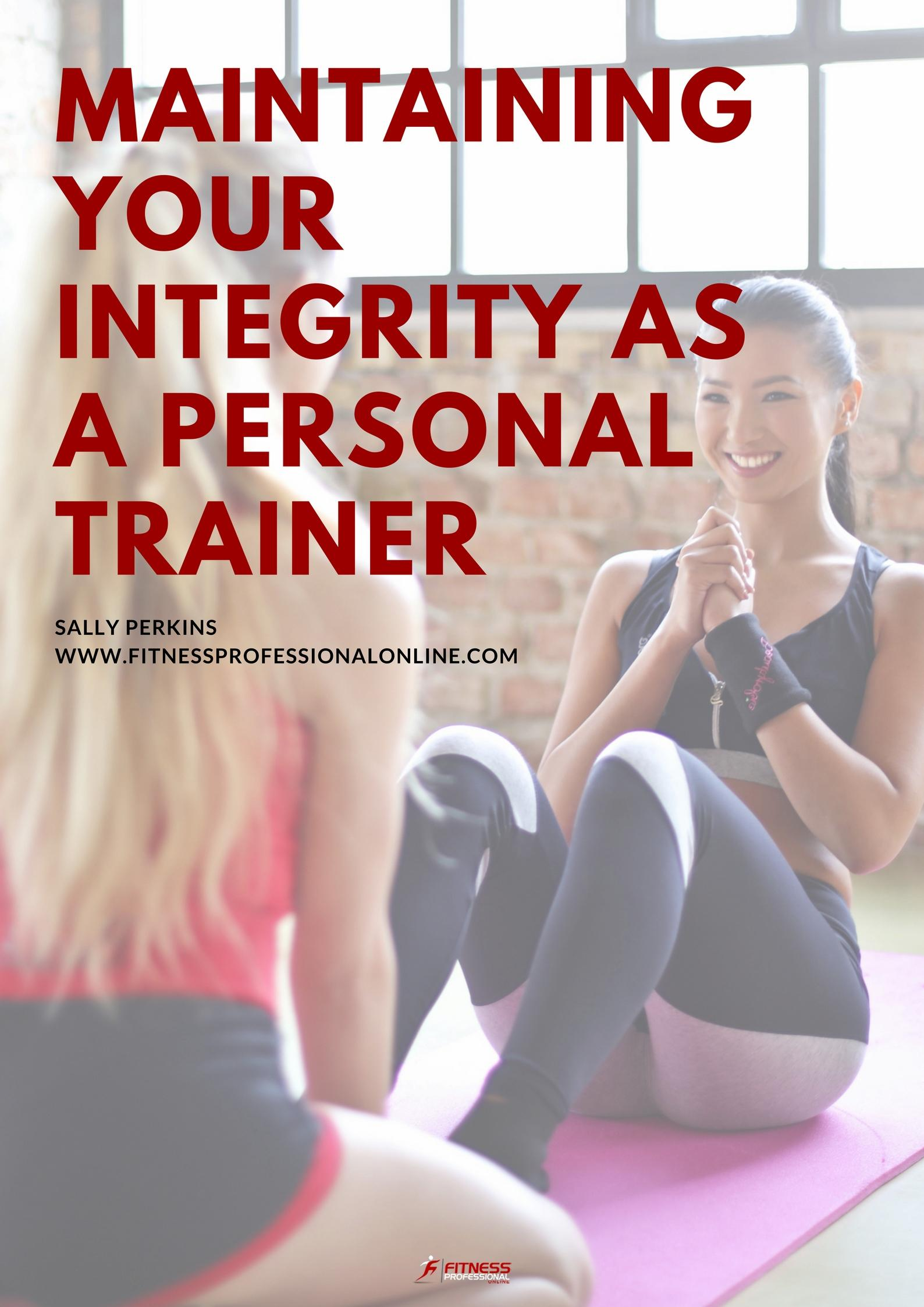 Every personal trainer worth their salt knows that fad diets and exercise programs don't work.