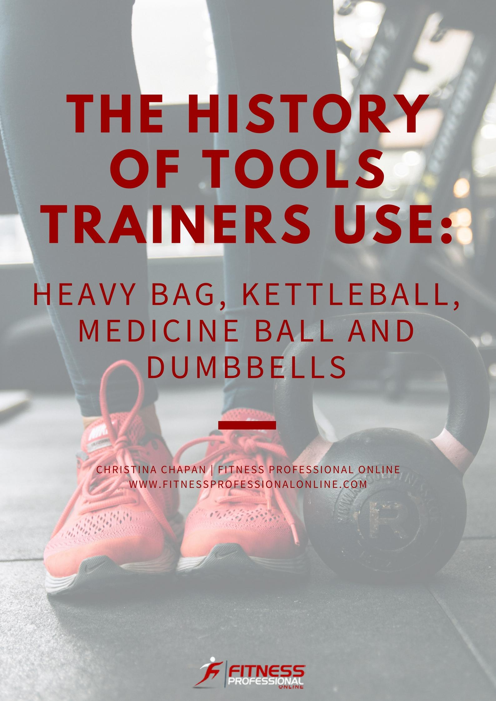There are many tools in the gym but do you know the history of them? Here is an article about the tools we use in the gym.