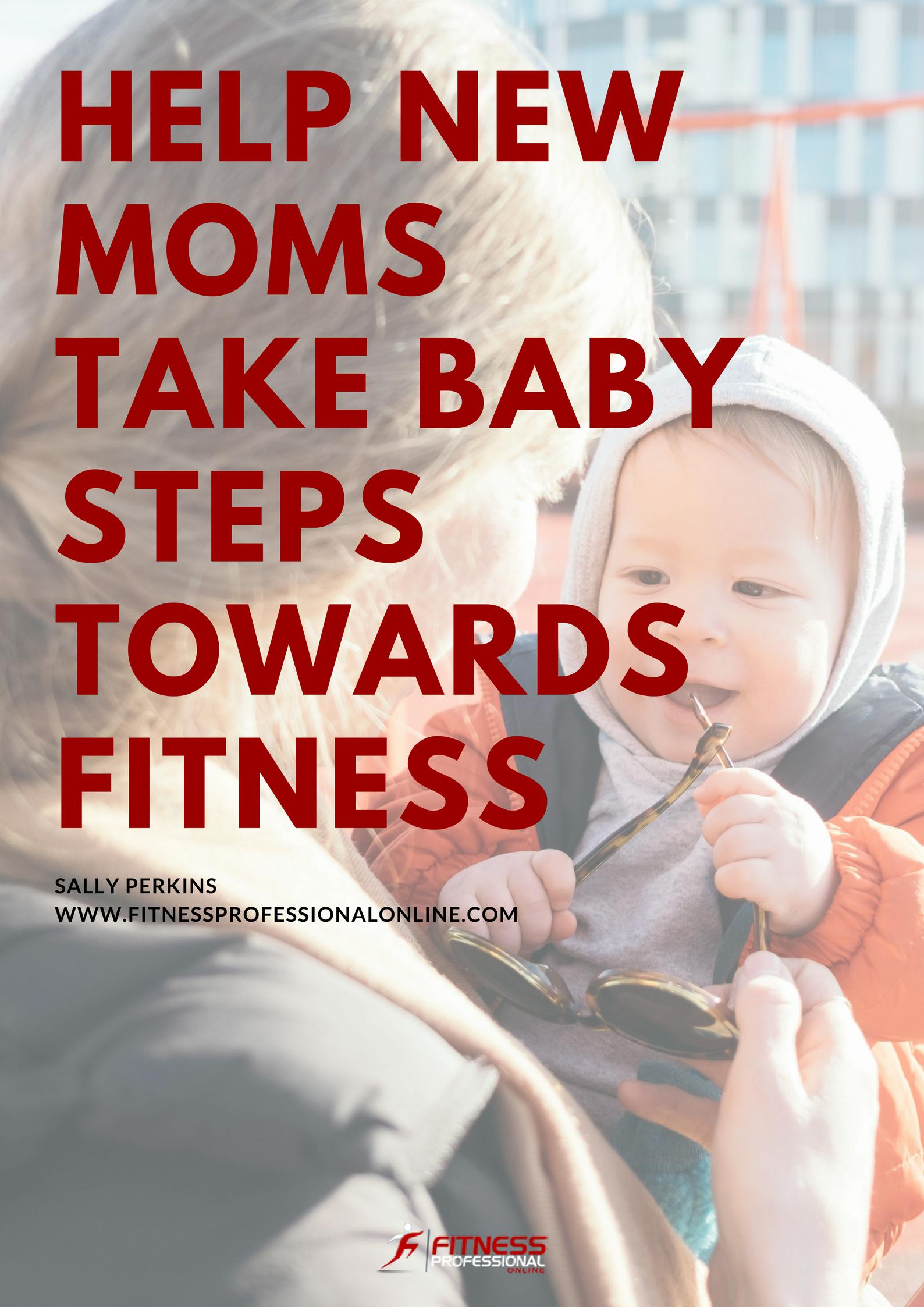 The first and most important tip for new mom's about fitness is to listen to their bodies, get enough time off, and start slow.