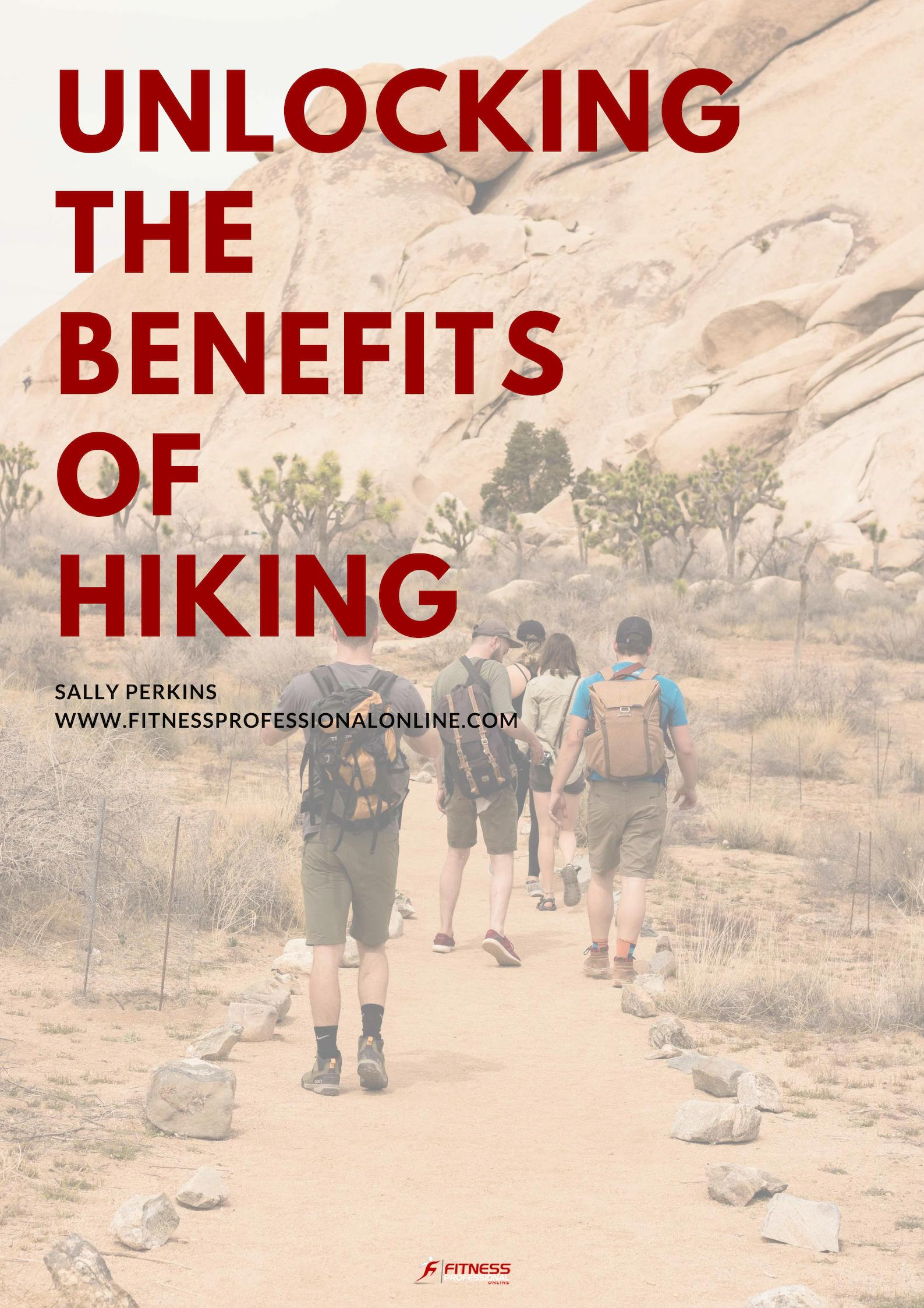 More and more people are seeking the health benefits of heading outdoors.