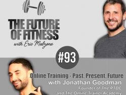 Online Training – Past, Present, Future – Jonathan Goodman
