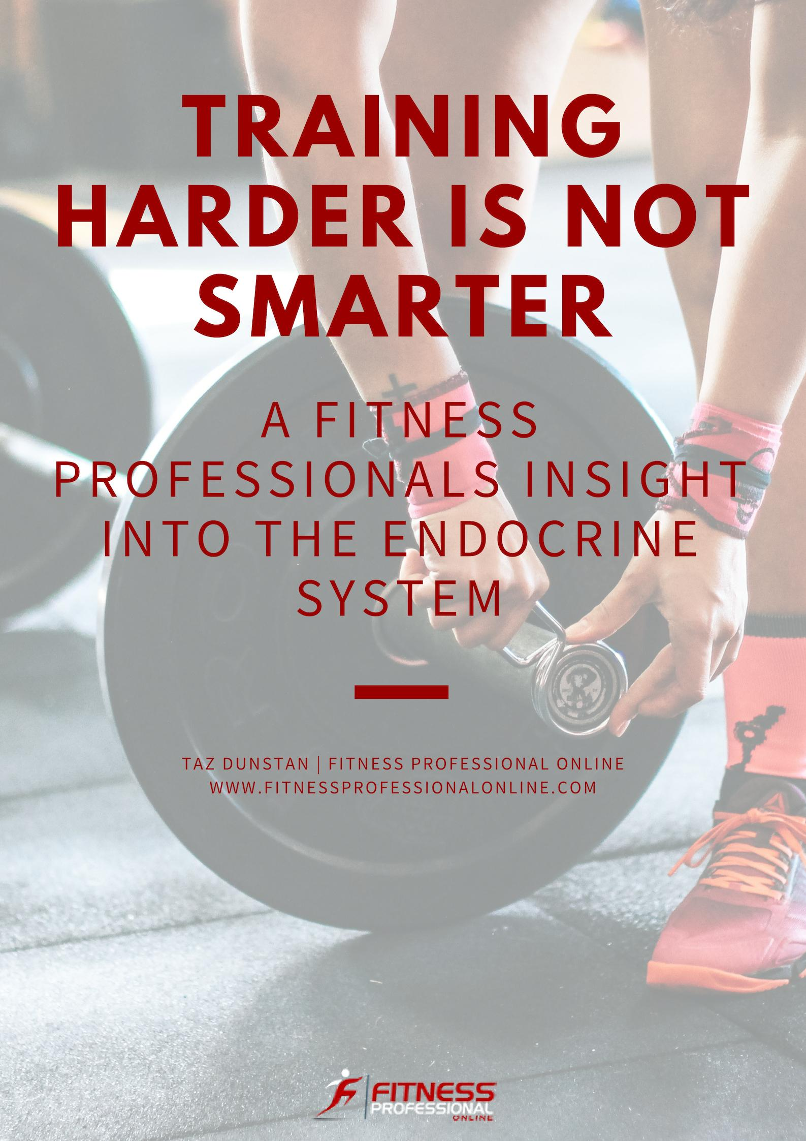 Understanding functional anatomy and the endocrine system is paramount to optimize exercise performance in a safe and effective manner.
