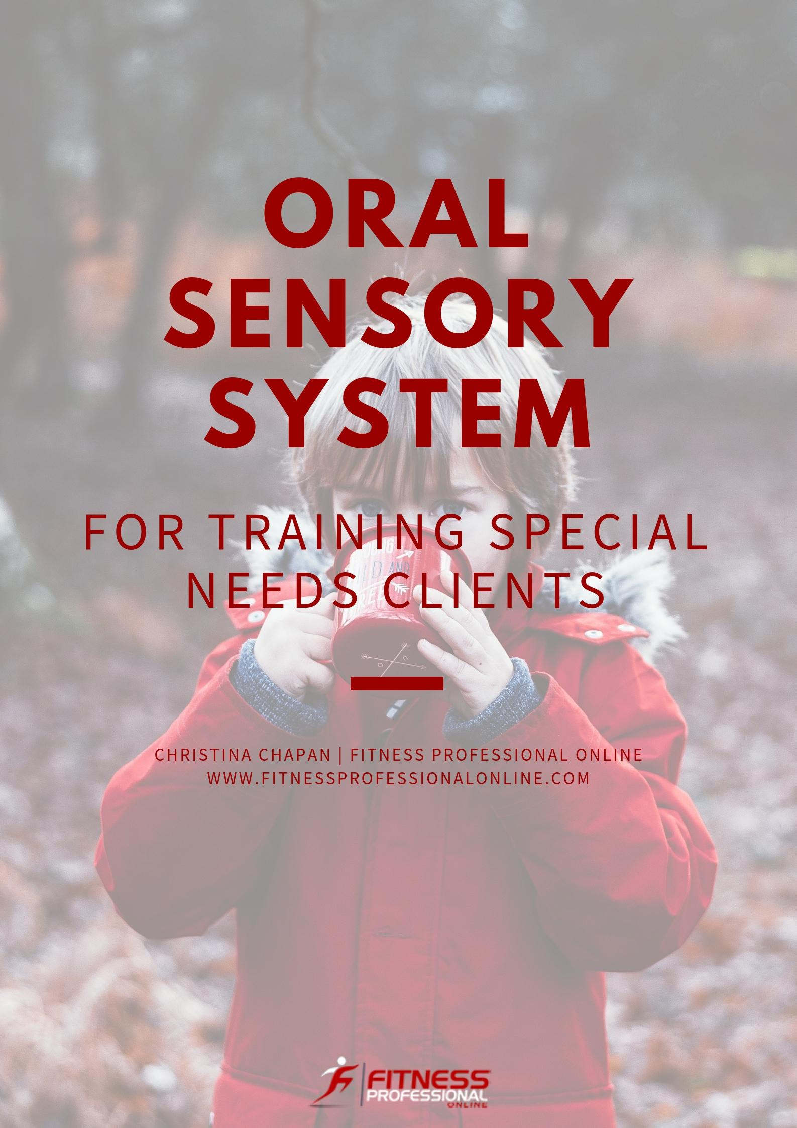 Many children and adults suffer from the oral sensory disorder.